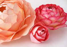 All Things Paper: Paper Flower Centerpieces - Zipper 8 Lighting