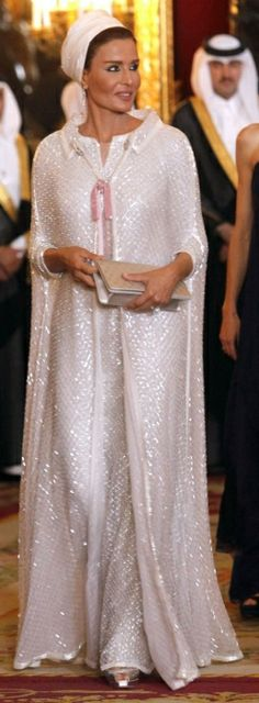 Vanity Fair Best Dressed: H.H. Sheikha Moza Bint Nasser of Qatar
