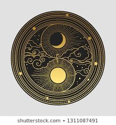 Find Decorative Graphic Design Element Oriental Style stock images in HD and millions of other royalty-free stock photos, illustrations and vectors in the Shutterstock collection. Graphic Design Illustration, Graphic Art, Cloud Photos, Design Graphique, Moon Art, Fractal Art, Sacred Geometry, Black Art, Occult
