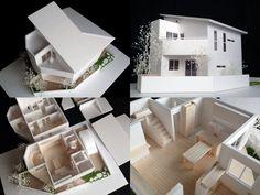 S=1/50住宅模型(Japan) YouTube動画「建築模型の作り方」 https://www.youtube.com/c/Whiteteco