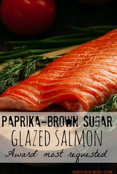 delightful, caramelized salmon recipe to please a crowd!