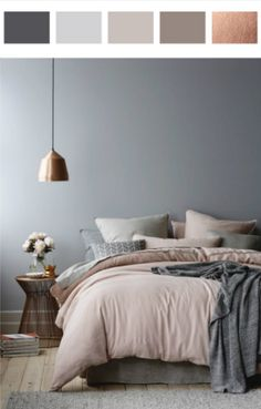 HOME DESIGN IDEAS 2016: BEDROOM COLOR SCHEMES_see more inspiring articles at http://www.homedesignideas.eu/home-design-ideas-2016-bedroom-color-schemes/
