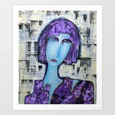 news item Art Print by agnes Trachet - $18.00