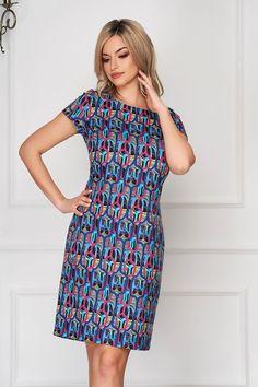 Rochii office de vară la modă în 2020 - Rochii office în vogă vara acesta Kurti Designs Party Wear, High Neck Dress, Casual, How To Wear, Dresses, Fashion, Turtleneck Dress, Vestidos, Moda