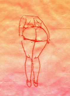 oh my god i love how fucking simple this is — the lines of it, the two lines of thread representing the panties, the hands fading off into nowhere — but it still evokes a response just as strong as if...