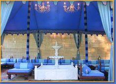 Gorgeous #blue #tent