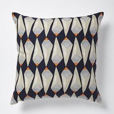 Patch NYC Crystals Pillow - Vibrant Orange #westelm