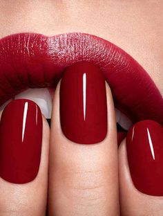 NAIL POLISH: Never dip into the middle-ground palette; go vamp red, light pink, black or clear.