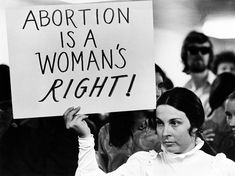 Roe v. Wade declared abortion legal, and used a woman's right to privacy as justification, giving women further rights and empowerment in their civil rights movement. Protest Signs, Political Signs, Power To The People, Feminist Art, Pro Choice, Women Empowerment, Equality, Crime, Positivity