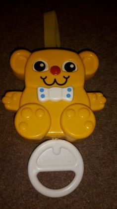 #Vintage #1980's #matchbox yellow teddy bear toy,  View more on the LINK: http://www.zeppy.io/product/gb/2/281842559563/