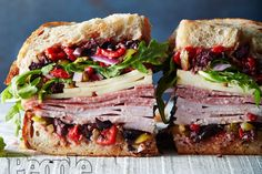 No-Cook Recipes: Summer Dinner Ideas for When It's Too Hot to Turn on Your Oven Muffuletta Recipe, Muffuletta Sandwich, Panini Sandwiches, Wrap Sandwiches, Italian Sandwiches, Italian Panini, Gourmet Sandwiches, Giada Recipes, Chef Recipes
