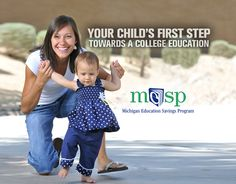 Your child's first step towards a college education is creating a 529 savings account. It only takes $25 to open an account, and the benefits can last a lifetime. Education College, Higher Education, Saving For College, First Step, Your Child, Michigan, Investing, Learning, Couple Photos