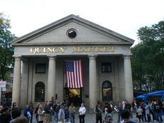 Fenuil Hall/Quincy Market in Boston, Mass. Best mac and cheese ever!!!!
