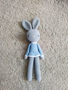 Check out this item in my Etsy shop https://www.etsy.com/uk/listing/517891139/crochet-bunny-amigurumi-bunny-baby-gift
