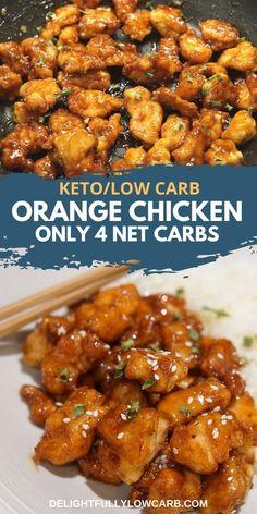 Diabetic Chicken Recipes, Asian Chicken Recipes, Keto Crockpot Recipes, Asian Recipes, Cooking Recipes, Healthy Recipes, Diet Recipes, Healthy Chinese Recipes, Asian Foods