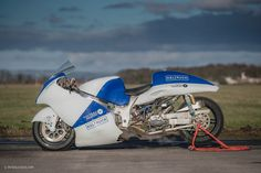 Meet A Steam-Powered Suzuki Built To Chase Land Speed Records • Petrolicious