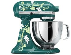 (link) Etsy ` Grape Vine Mixer Decals for your Kitchenaid Stand Mixer  ~ for more great PINs w/good links visit @djohnisee ~ have fun!