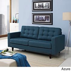 Empress Loveseat - love the color