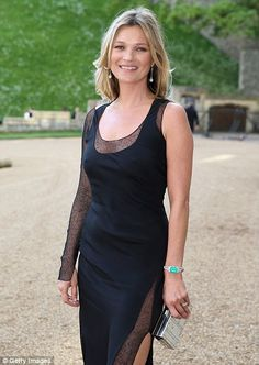 5/13/14.   Kate Moss arrives for a dinner to celebrate the work of The Royal Marsden hosted by the Duke of Cambridge at Windsor Castle