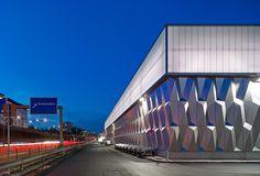 bauhaus AG berlin clad with parametric panels by müller reimann architekten