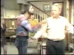 Archie Bunker sings God Bless America Just for giggles Those Were The Days, The Old Days, Radios, Archie Bunker, 70s Tv Shows, All In The Family, That's Entertainment, Good Ole, Jesus Saves