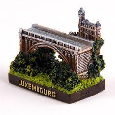 Collectible Miniature House: Luxembourg. Adolphe Bridge (The New Bridge)