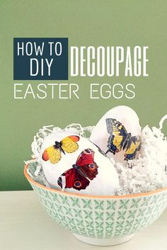 How To DIY Decoupage