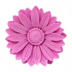 Molde para #hacerjabon de glicerina, Daisy Flower. Con esta flor conseguirás hacer divertidos jabones para tu baño. Hazlo tu mism@.