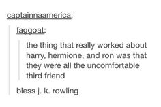 I never noticed this, but it's so true!!! There are so many subconscious reasons I like Harry Potter, and this is one of them