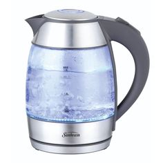 Learn more about Glass and Stainless Steel Electric Tea Kettle. Glass and Stainless Steel Electric Tea Kettle. Tea Kettle Walmart, Small Appliances, Kitchen Appliances, Coffee Carts, Coffee Nook, Canned Heat, Cast Iron Cookware, Heating Element, Computer