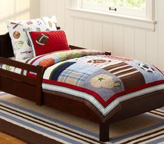Junior Varsity Toddler Bedding | Pottery Barn Kids
