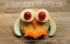 Sun Hats & Wellie Boots: Edible Math Activity - Owl Snacks