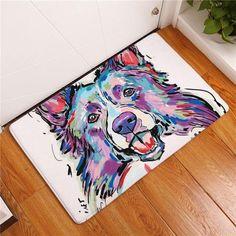 Dog Print Carpet Anti-slip Floor Mat