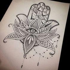 Symbol Tattoos, Body Art Tattoos, New Tattoos, Hand Tattoos, Sleeve Tattoos, Hamsa Hand Tattoo, Hamsa Tattoo Meaning, Hamsa Art, Tattoo Fonts