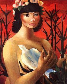 Jorge Bichuetti   Ele retrata a sensualidade, a faceirice, o dengo... A ternura, e a valentia guerrei...