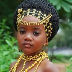 This is a beautiful Afro-American Child with African ancestors which is what it is about we are all beautiful people no matter where live.