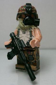 Lego Military Vietnam soldier.