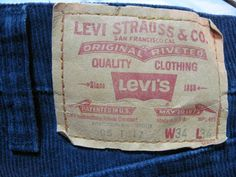 Levi's Cords