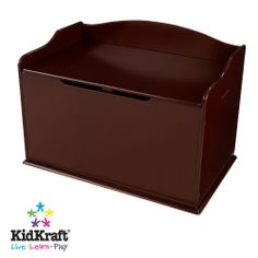 KidKraft Austin Toy Box Cherry  $118.99 30 in L x 18 in W x 19 in H  Comes in different colors