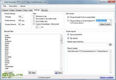 PTCS 1.4.4 High-Speed Posting With Powerfull Scraper Free Download Full Version. It can also get relevant URL from Google base on your keywords.