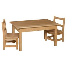 Wood Designs Rectangle Table and Chair Set - WDM254