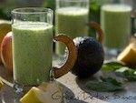 Quick and #Healthy #Breakfast #Smoothies and Incredible Hulk Power Smoothie from Aviva Goldfarb The Six O'Clock Scramble #Green #Detox #Smoothie