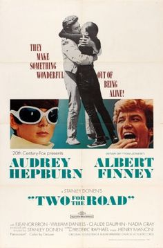 Two For The Road Audrey Hepburn 1967 - original vintage movie poster listed on AntikBar.co.uk
