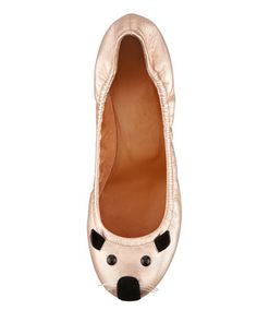 I must have these!!  MARC by Marc Jacobs Soft Mouse Ballerina Flat, Rose Gold - Bergdorf Goodman