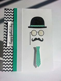Make cards for men in my Chicago area card making classes - A Muse Studio Father's Day Card.  All adult crafters are welcome.  RSVP here: http://kitchentablestamper.com/2014/06/chicago-area-cards-for-guys-class/ #amusestudio