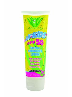 Kids Water Resistant Sunscreen Lotion SPF50 £12.99  Combined formula of moisturizing AloeVera & Cocoa seed butterfor kids sensitive skin. Hypo-Allergenic with high water resistance. Suitable for all age groups above 6 months of age. Biodegradable. Paraben & Oxybenzone free. Clear and fragrance free.