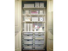 office - closet organization