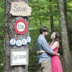 SAVE THE DATE ... invitaciones originales para una boda