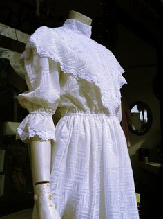 Victorian style dress form