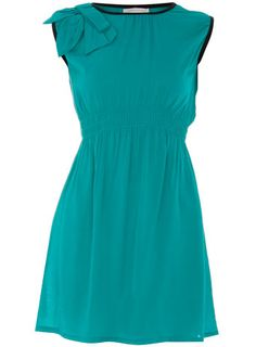 contrasting bias trim - Cute Cheap Dress: Dorothy Perkins